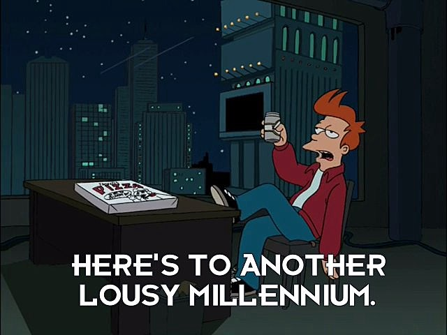 Futurama New Year's