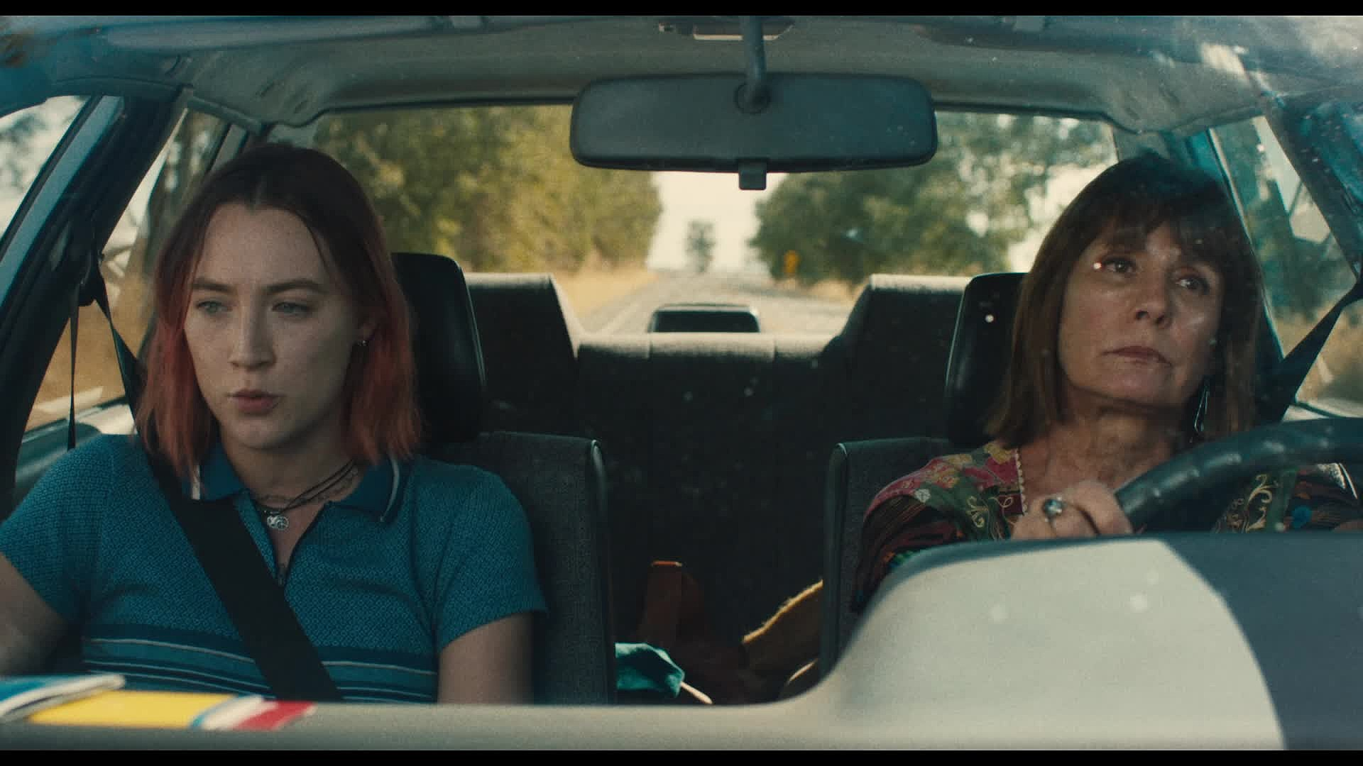 Saoirse Ronan & Laurie Metcalf in 'Lady Bird' which scored for GG nominations.