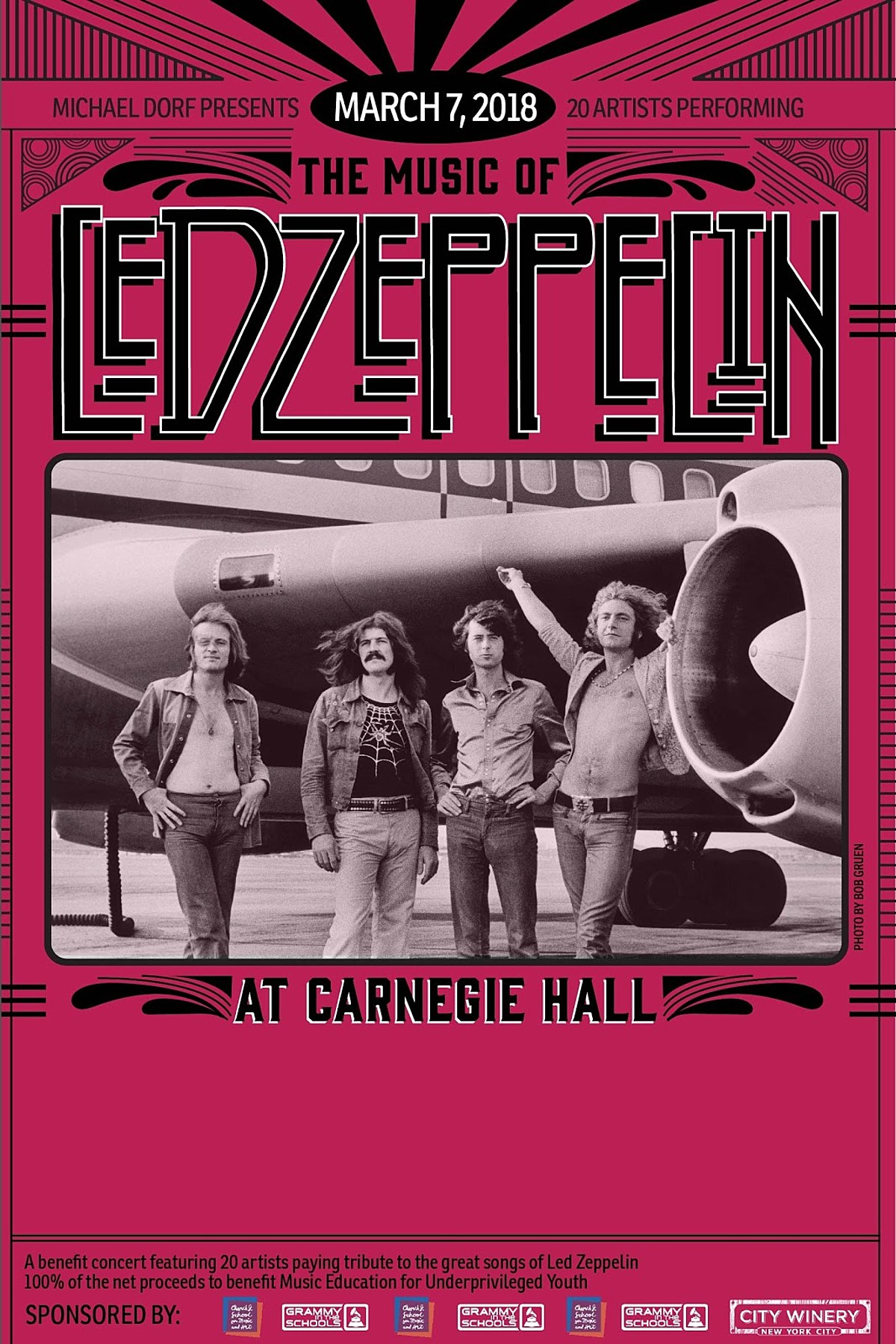 J Mascis, The Zombies, Bettye LaVette more playing Zeppelin tribute at Carnegie Hall
