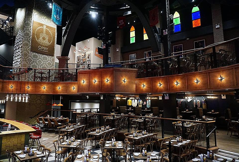 Grand ole opry s times square location now open for Stage cuisine vegan