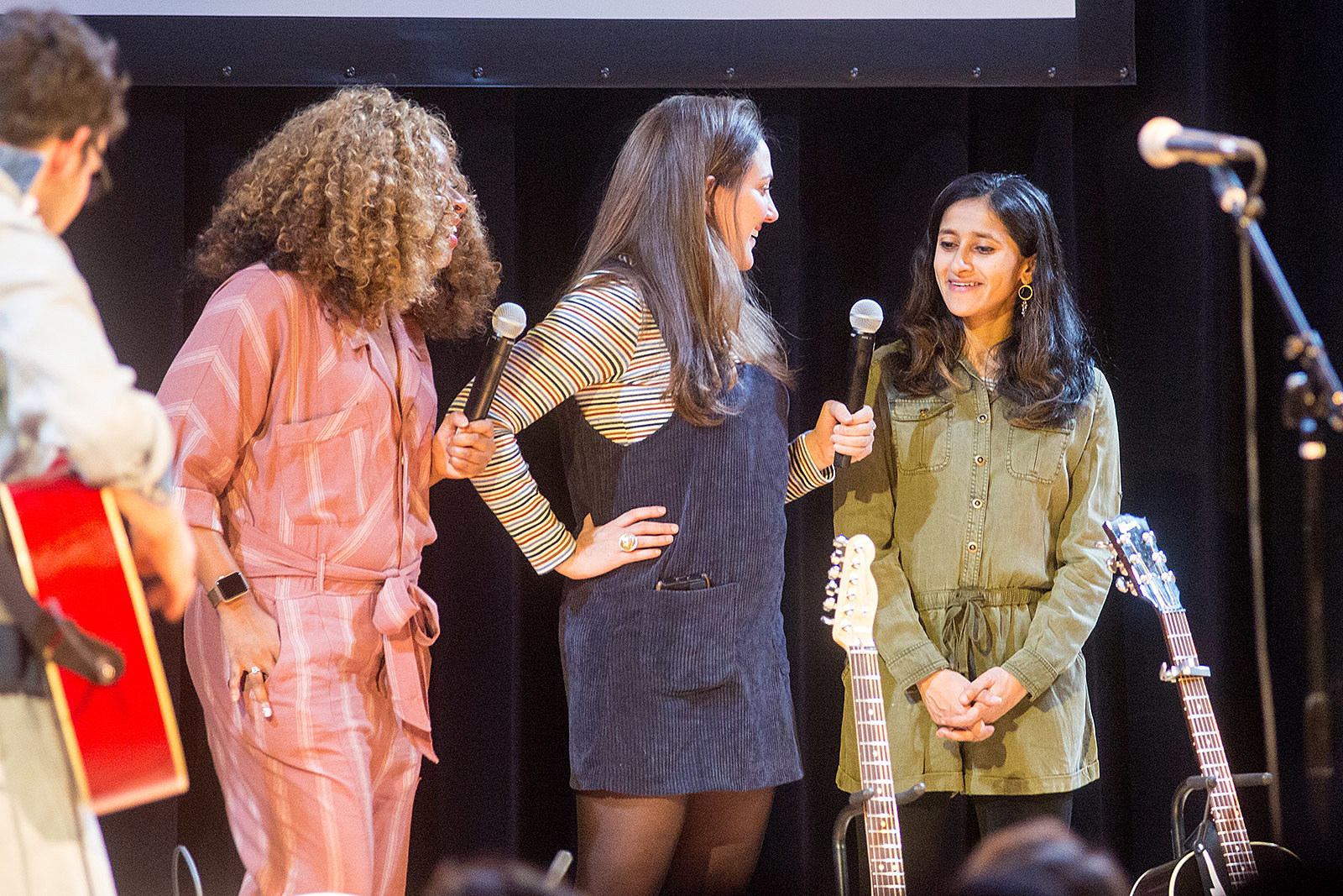 Phoebe Robinson, Jacqueline Novak, and Aparna Nancherla @ 2018 Ally Coalition Talent Show