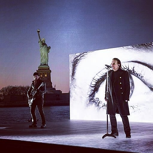 U2 Add 3rd Msg Show To Tour After Playing The Grammys