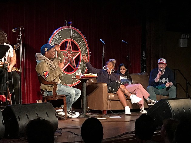 Michael Che, Aparna, Jean Grae and John Hodgman at Bell House
