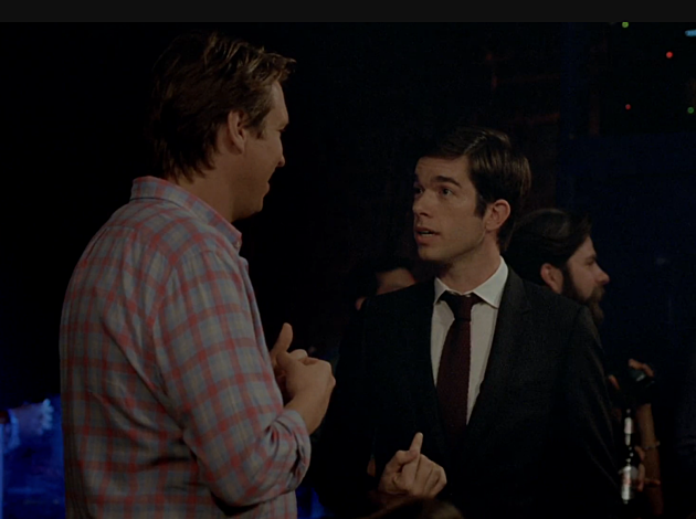John Mulaney and Pete Holmes on 'Crashing.'