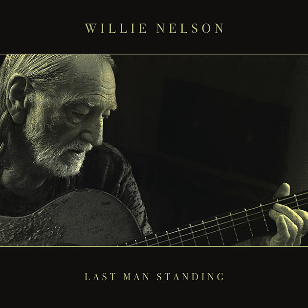 Willie Nelson Last Man Standing Cover Photo