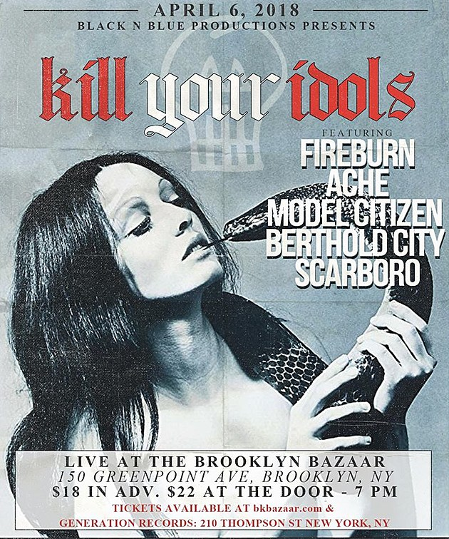Kill Your Idols playing shows with Fireburn (mem Bad Brains ...