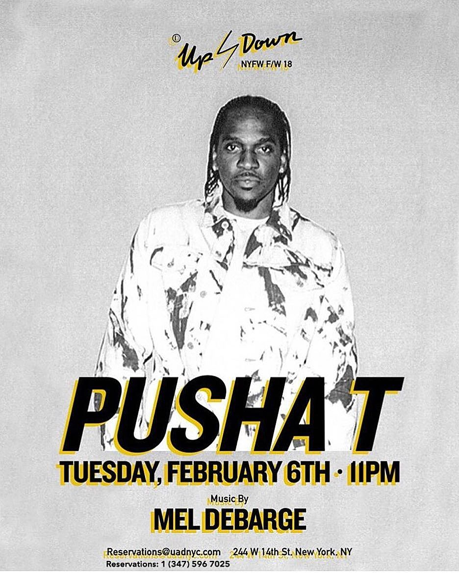 Pusha T Fashion Week