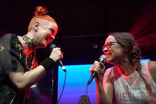 Shirley Manson and Fiona Apple