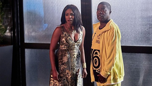 Tiffany Hadish and Tracy Morgan in 'The Last OG'