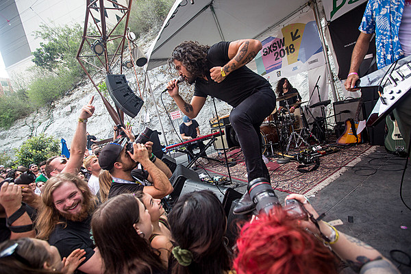 Lost Weekend SXSW day 3 pics: Andrew WK, Lucy Dacus, Gang of Youths, APTBS, more