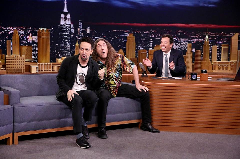 Lin and Al on The Tonight Show
