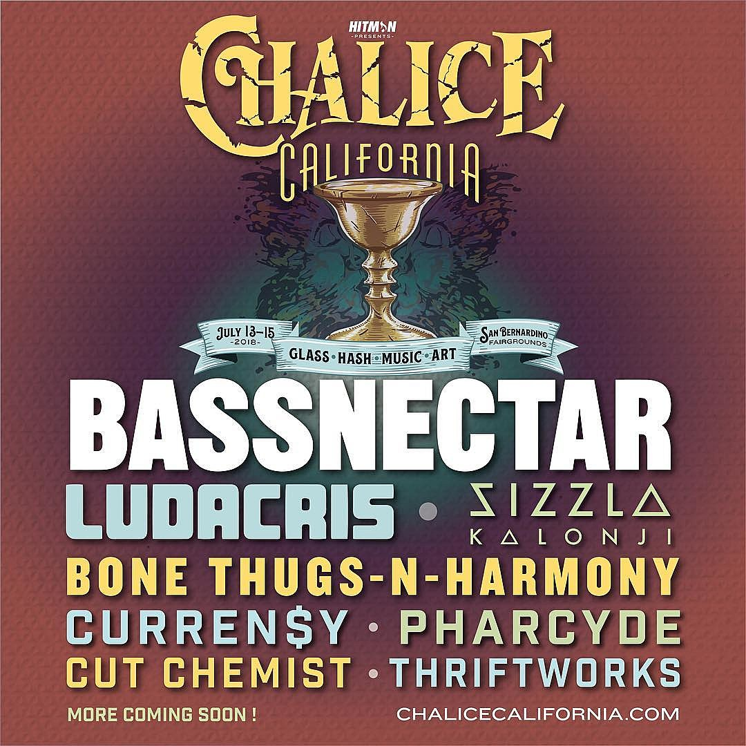 Chalice Festival 2018 Lineup