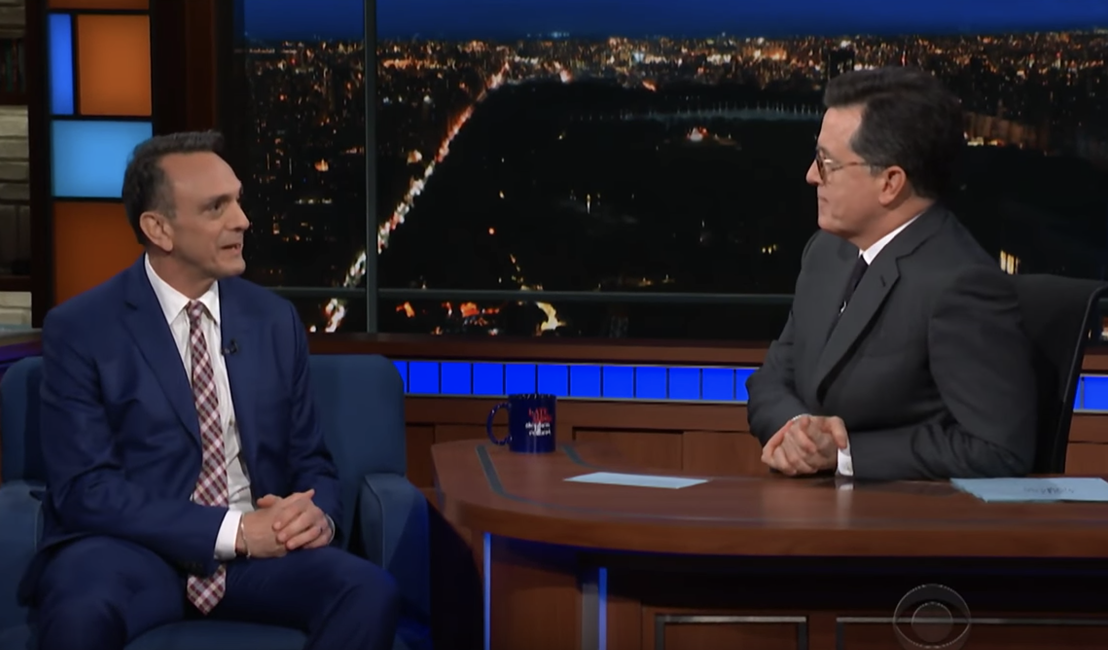 Hank Azaria on 'Colbert'