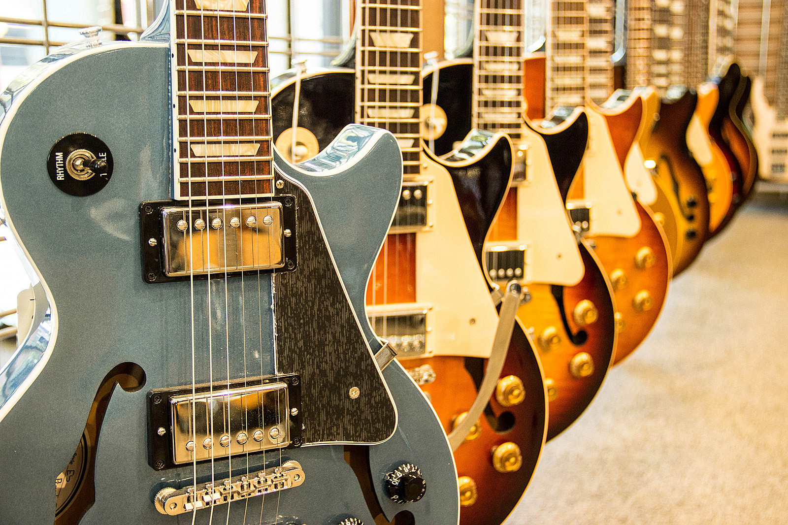 Gibson files for bankruptcy, legendary guitar maker to operate while reorganizing