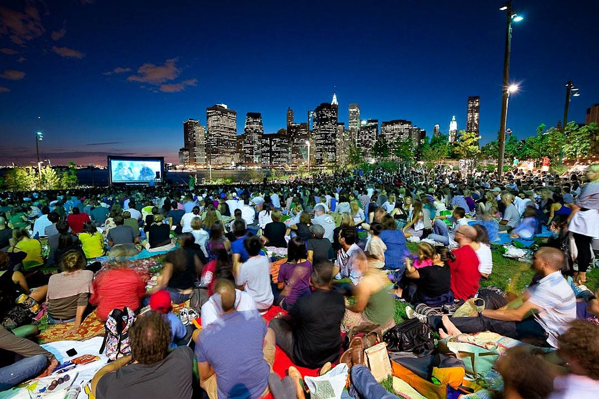 Image result for randall's island outdoor movie nights
