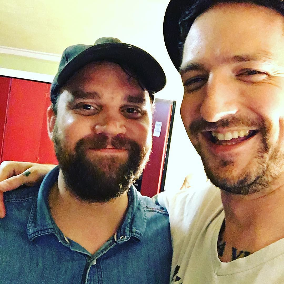 Scott Hutchison and Frank Turner