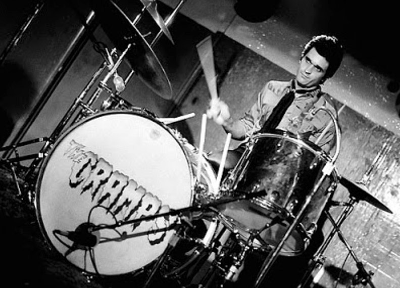Nick Knox of The Cramps
