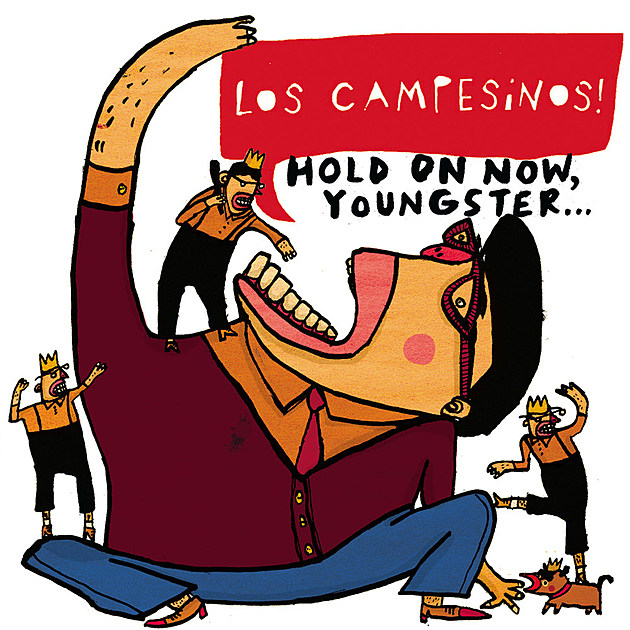 Los Campesinos Hold On Now Youngster