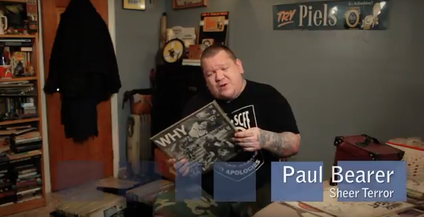Paul Bearer Records Collecting Dust