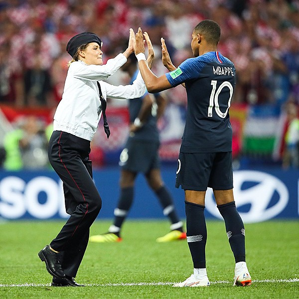 World Cup Final pitch invasion was a Pussy Riot protest
