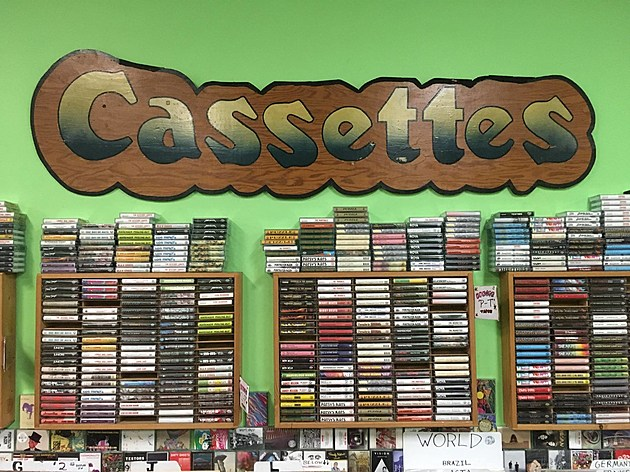 Cassettes? They've got a few.