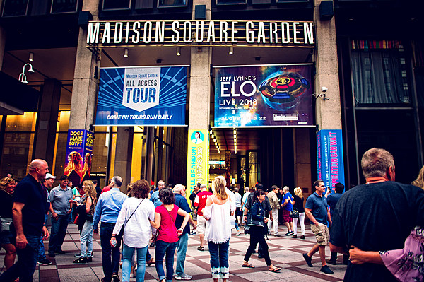 Madison Square Garden partnering with fingerprint and iris recognition service