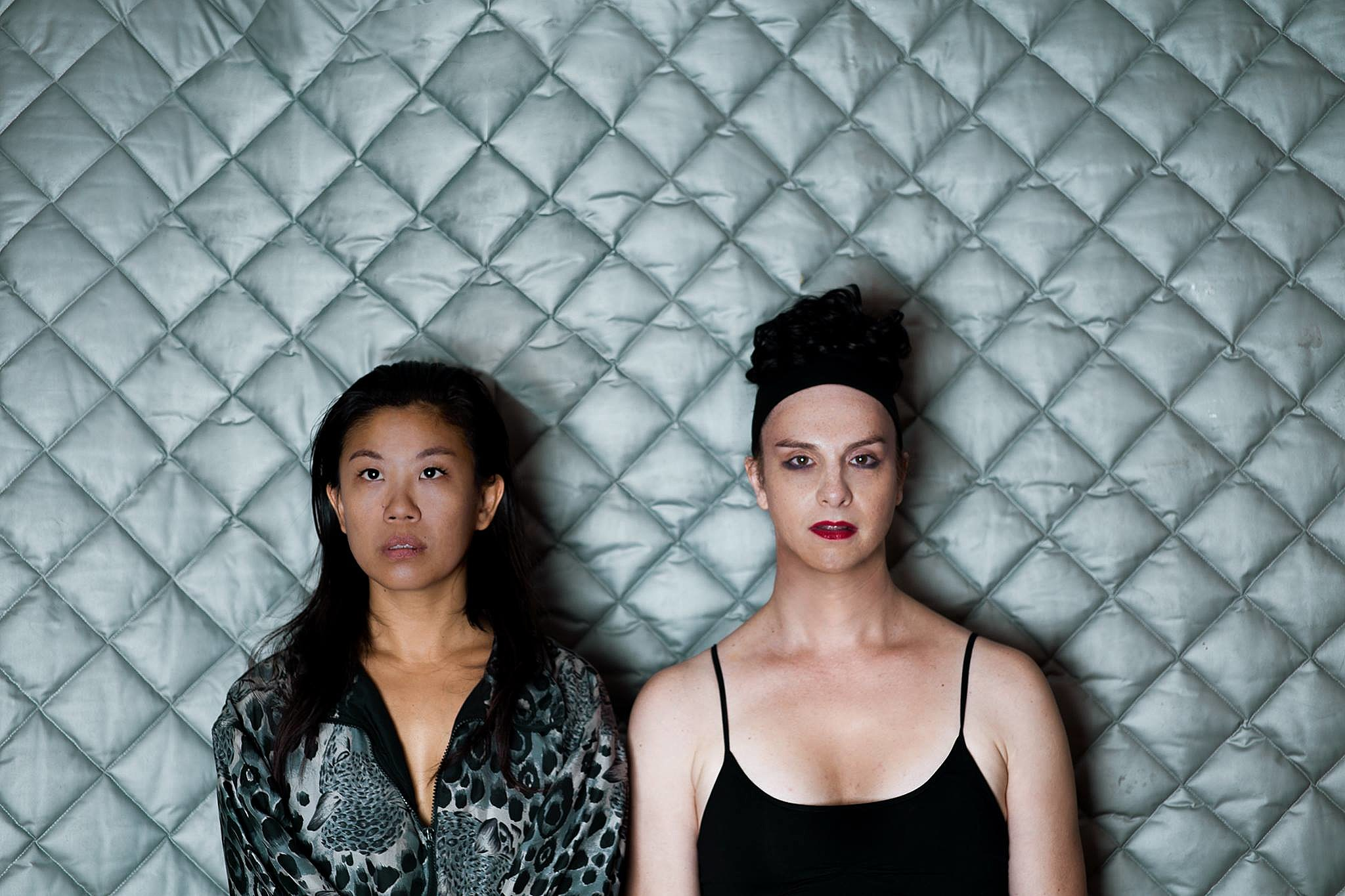 Nancy Whang and Gavin Rayna Russom (Ladies of LCD Soundsystem)