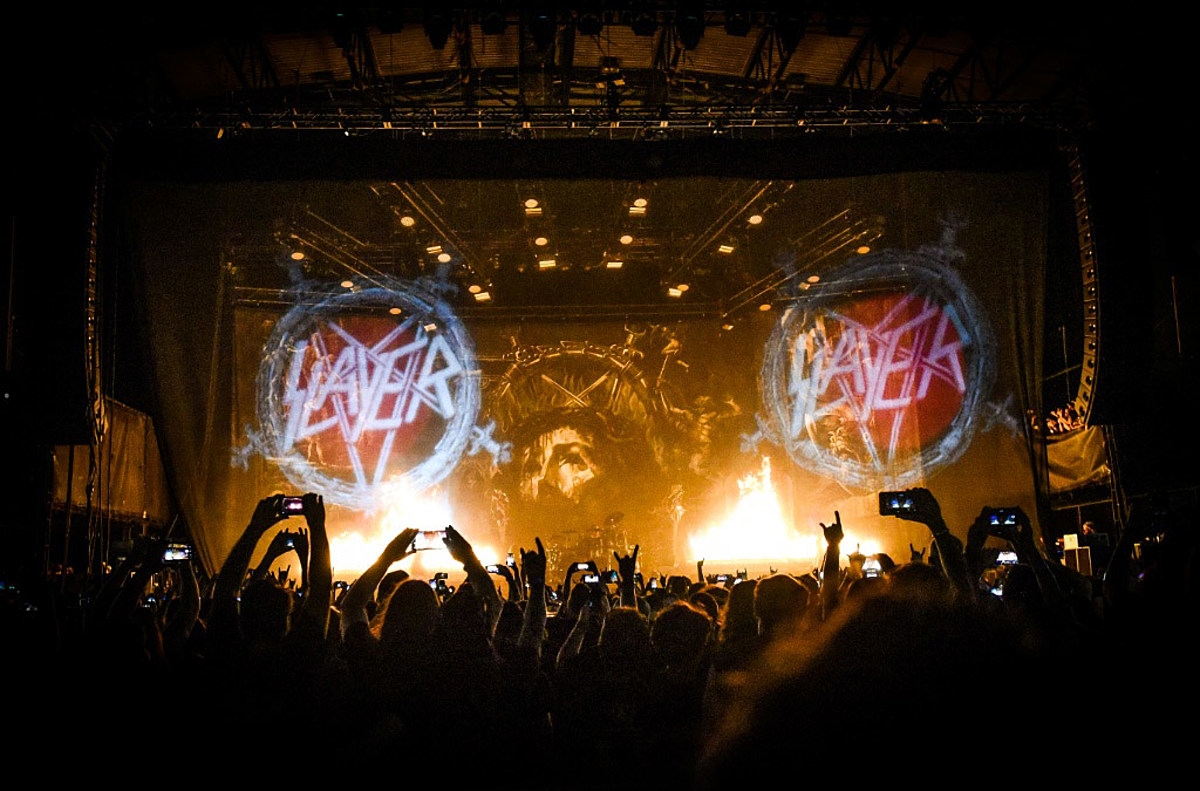Slayer announce final tour dates with Primus, Ministry Phil Anselmo