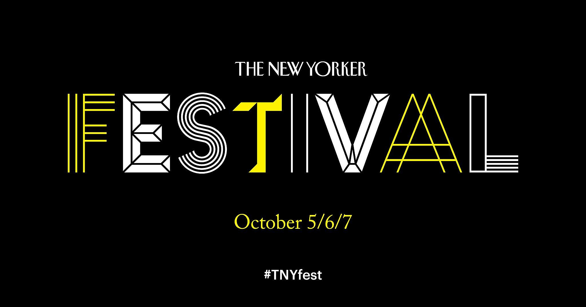 new yorker festival 2018 lineup tickets