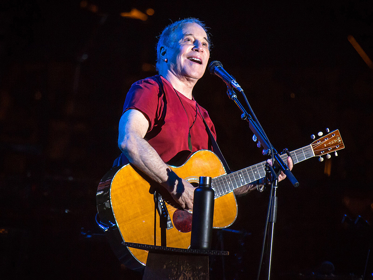 Paul Simon playing 'Live From Here with Chris Thile' in NYC