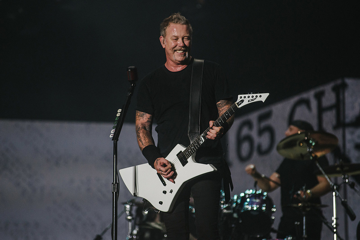 tix for the 5 festivals Metallica is headlining on sale