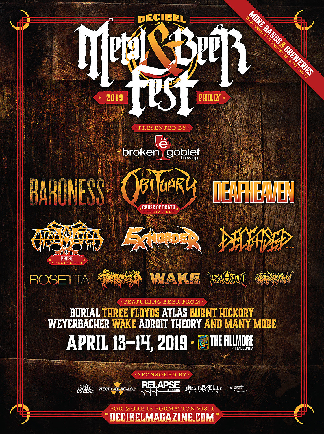 Decibel Metal Beer Fest
