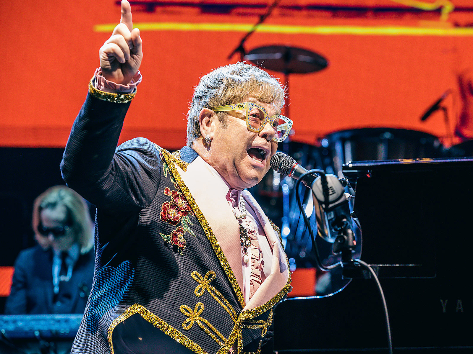 3f8ee14a4f50 Elton John brought his lengthy farewell tour to MSG (pics