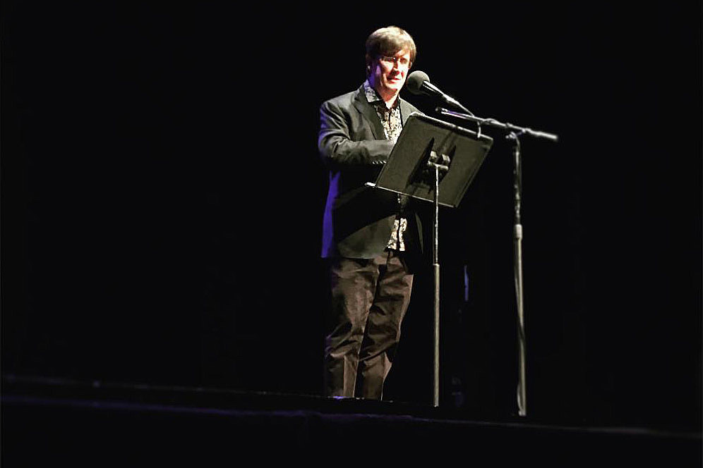 John Darnielle at Symphony Space