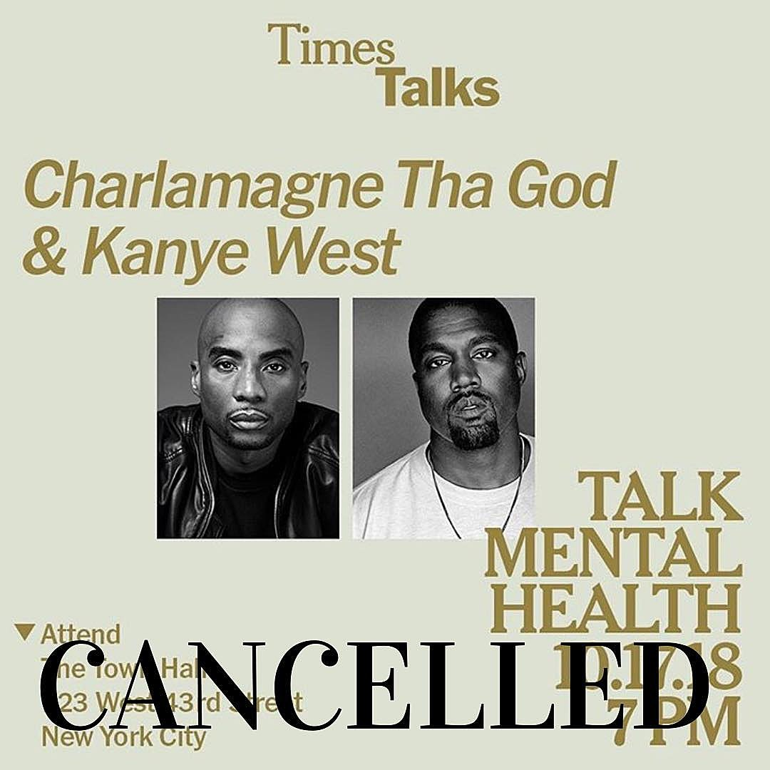 Kanye West S Times Talk On Mental Health Cancelled Would Not Be