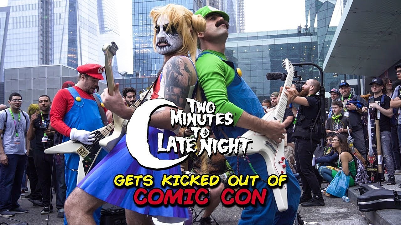 Two Minutes to Late Night Comic Con