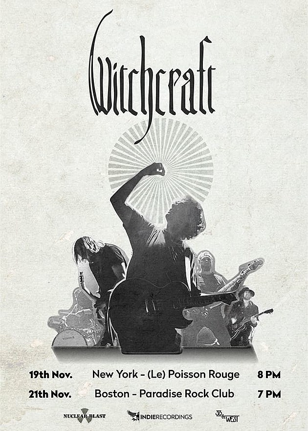 Witchcraft tour poster