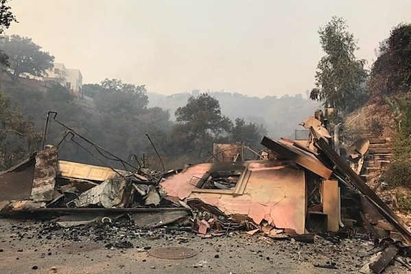 metal booking agent loses home in California wildfire, GoFundMe launched
