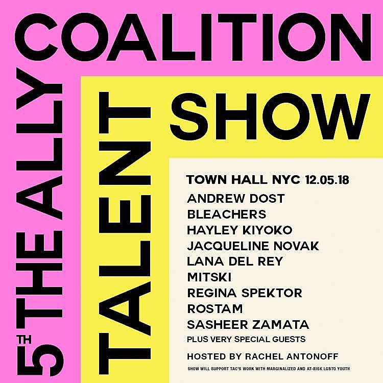 Fifth Annual Ally Coalition Talent Show