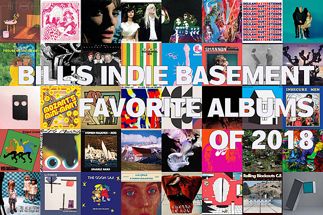 Bill's Indie Basement: Best Albums of 2018