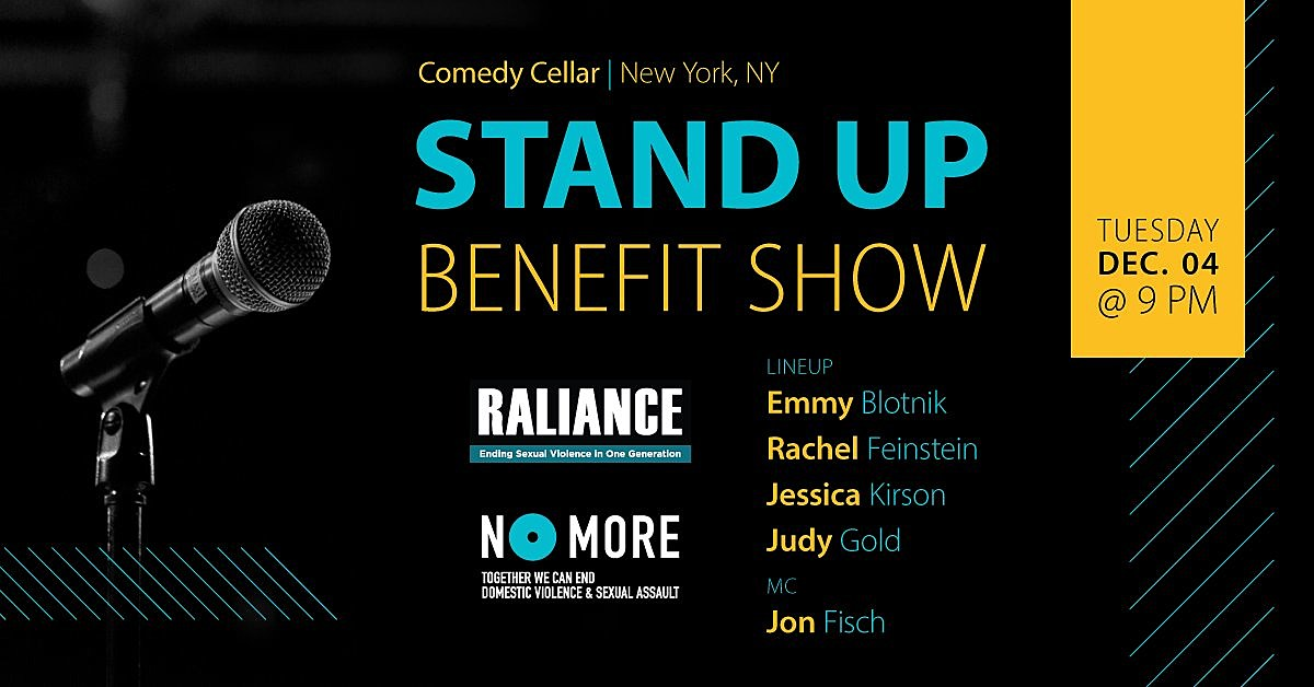MeToo Benefit at Comedy Cellar