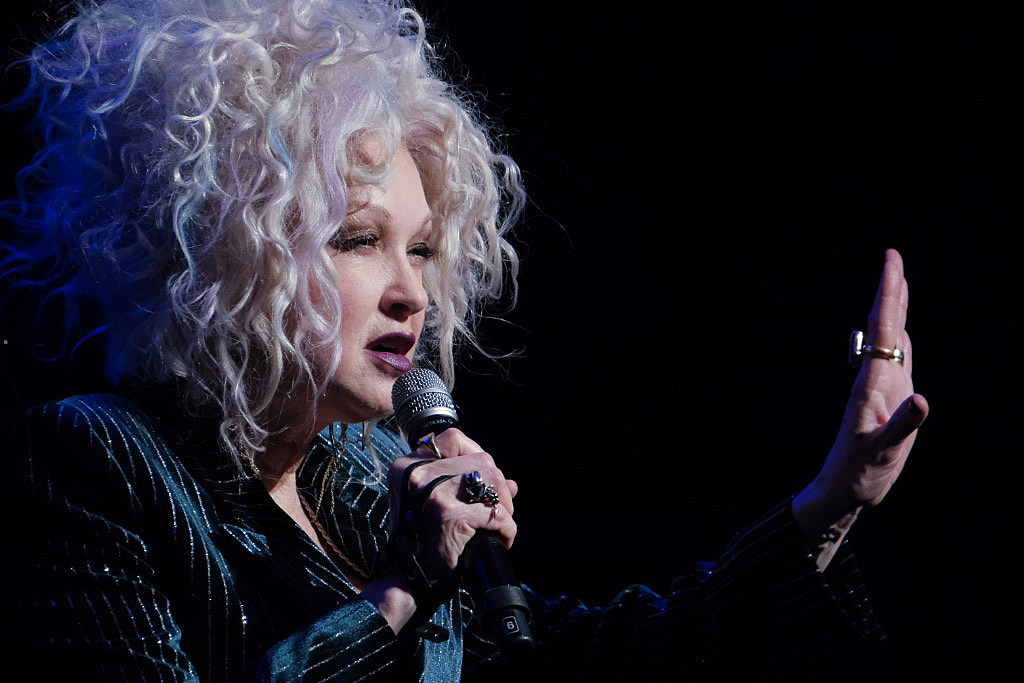 Cyndi Lauper & Friends: Home for the Holidays at Beacon Theatre