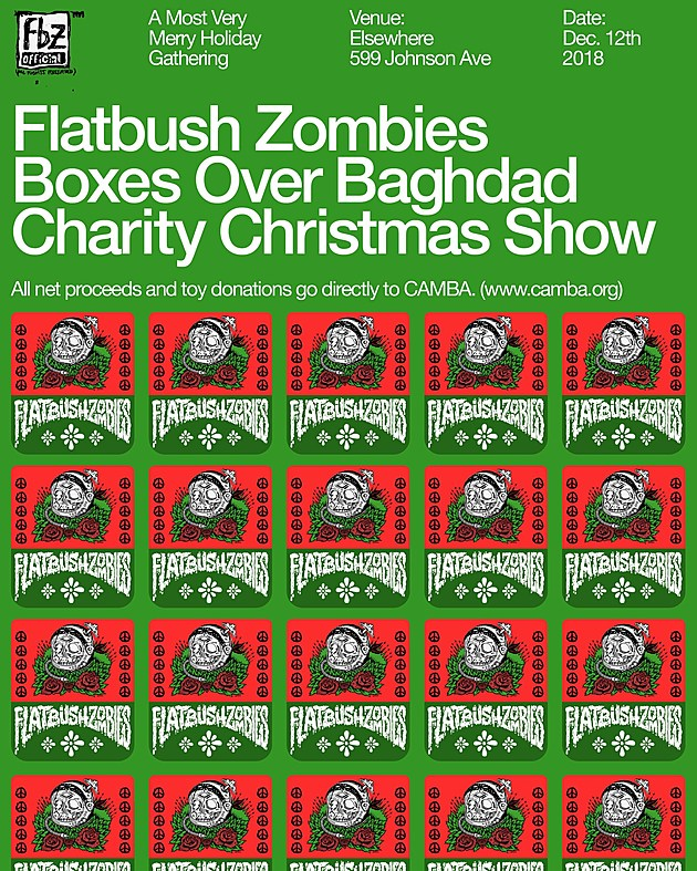 flatbush zombies holiday show at elsewhere