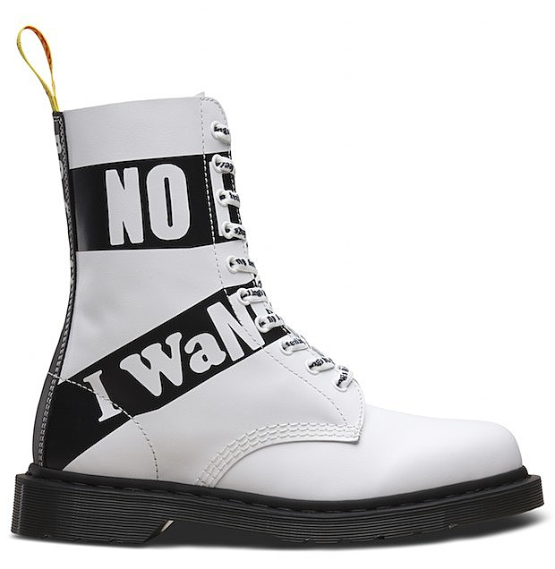 160856b0e364 Dr. Martens making Sex Pistols themed boots shoes