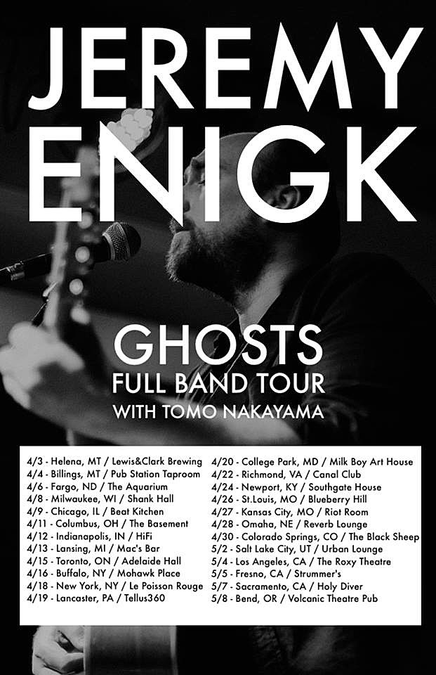Jeremy Enigk Ghosts tour