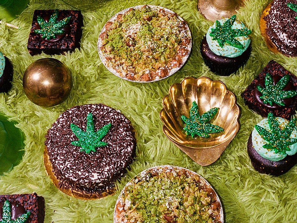 CBD baked goods at by CHLOE