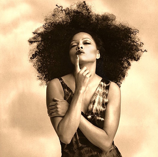 Diana Ross playing shows, including Radio City Music Hall