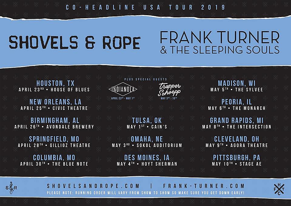 frank turner playing us shows with against me murder by death tim barry. Black Bedroom Furniture Sets. Home Design Ideas