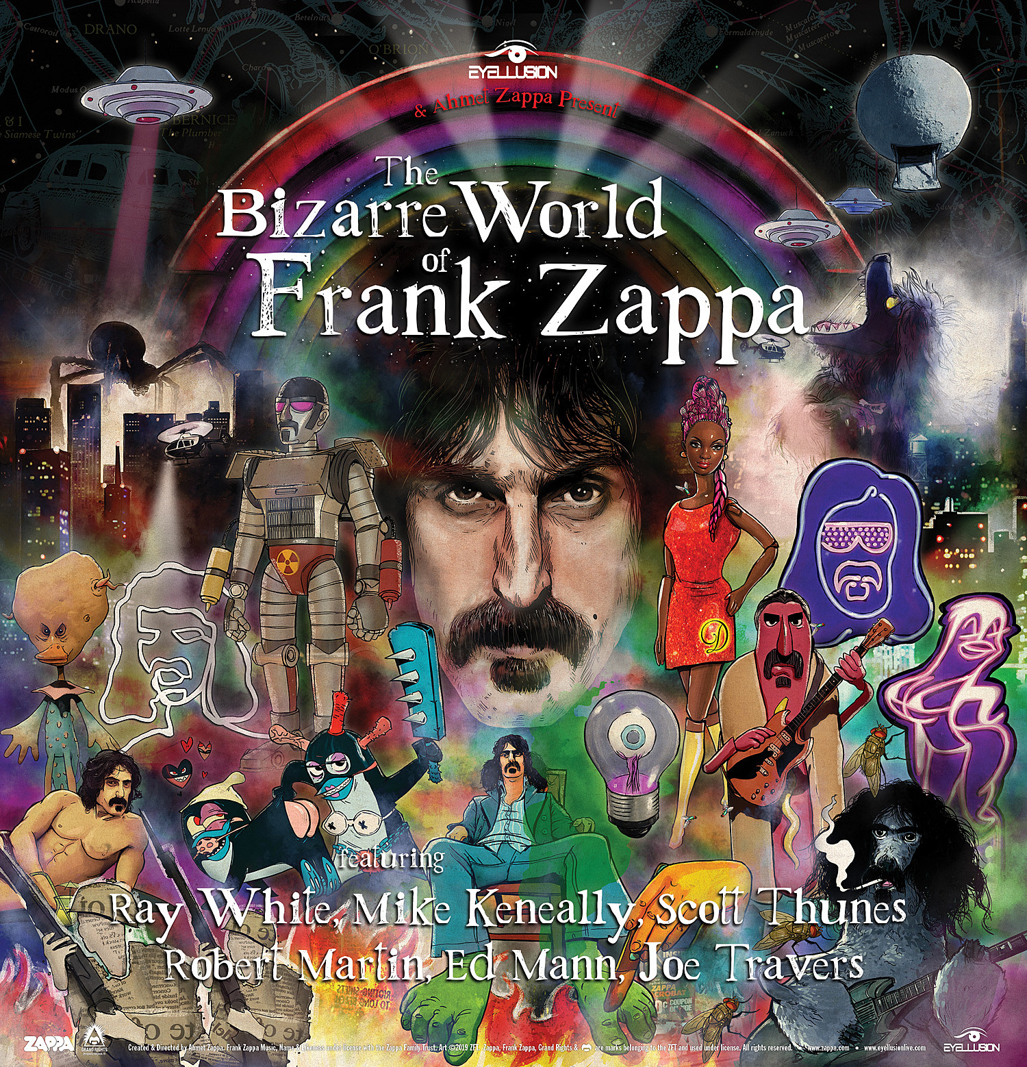 Frank Zappa hologram tour Bizarre World