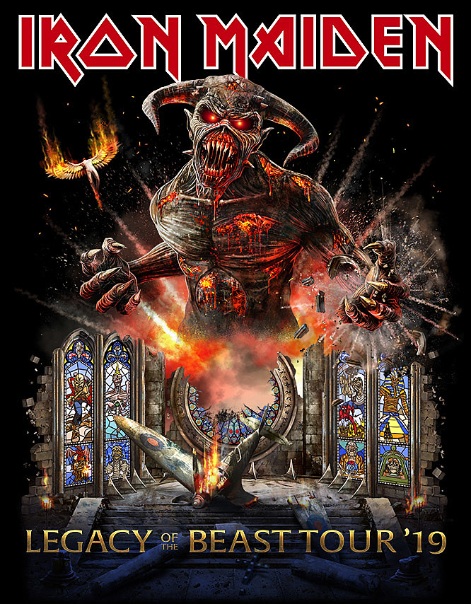 Iron Maiden Tour : iron maiden expand north american tour add more nyc mexico shows ~ Russianpoet.info Haus und Dekorationen